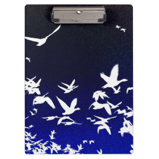 Snow Geese Birds Wildlife Animals Flying Clipboards
