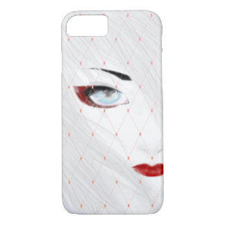 Snow Geisha Symmetry iPhone 8/7 Case