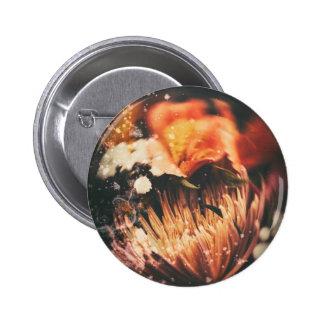 Snow Globe 2 Inch Round Button