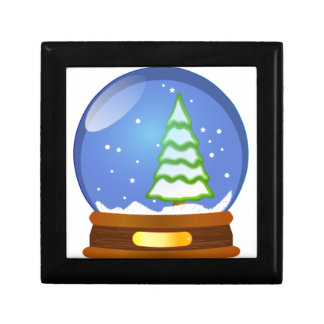 Snow Globe Cartoon Gift Box
