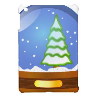 Snow Globe Cartoon iPad Mini Cover