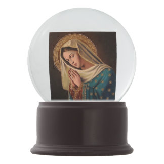 """Snow globe """"Image Ours Lady """""""