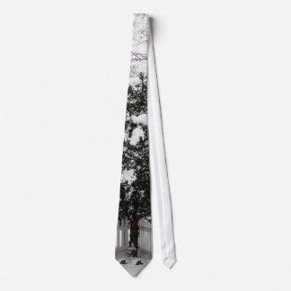 Snow Gnome Tie