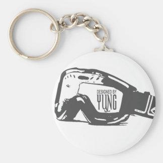 Snow Goggle Keychain