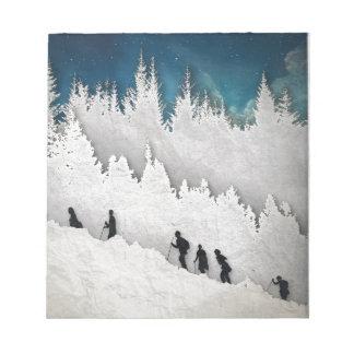 Snow Hike II Notepad