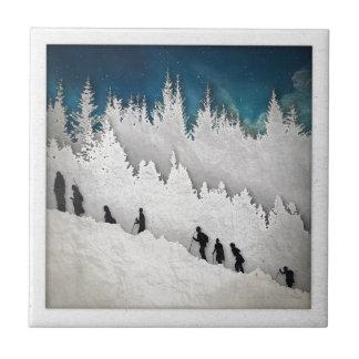 Snow Hike II Tile
