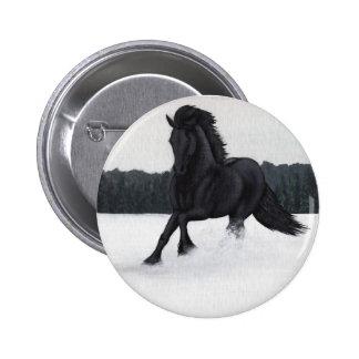Snow Horse Collection Pin