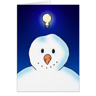Snow Idea Card