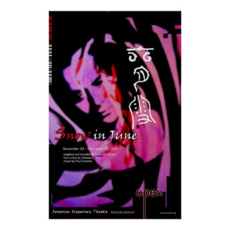 snow in june poster