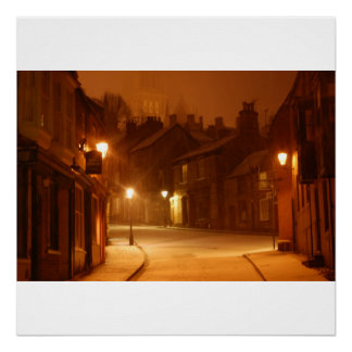 Snow In Lincoln Print