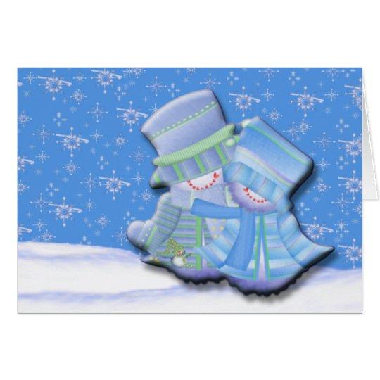 Snow In Love Card