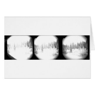 Snow in the Pines, North Lake Tahoe Card