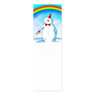 Snow Joke Note or Gift Pack Of Skinny Business Cards