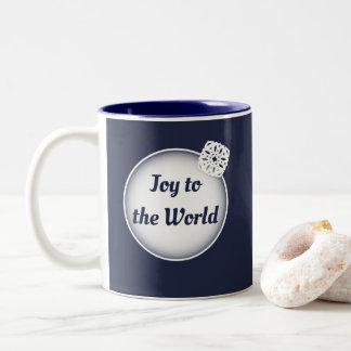 Snow Joy to the World   Photo Mug