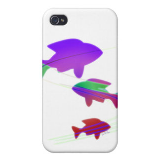 Snow Koi Cover For iPhone 4