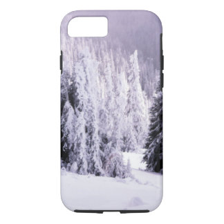 Snow laden iPhone 8/7 case