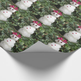 Snow Lady Wrapping Paper