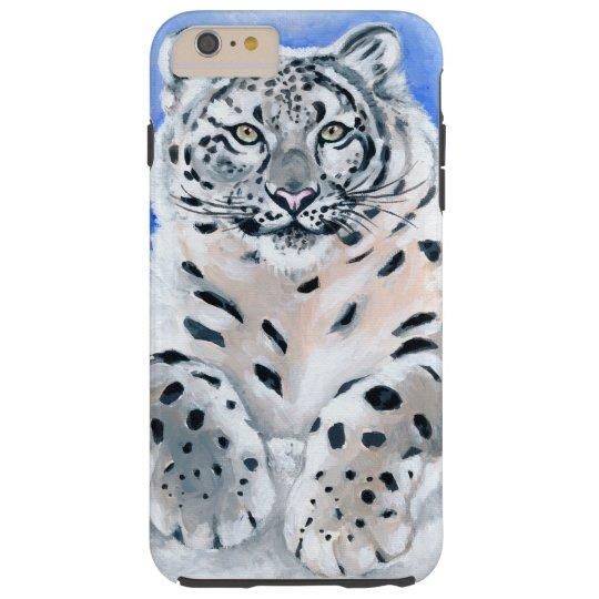 Snow Leopard Art Tough iPhone 6 Plus Case