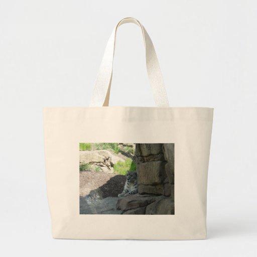 Snow Leopard Bags