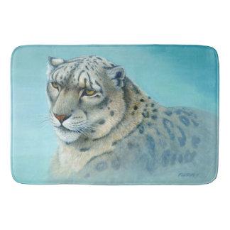 Snow Leopard - Bath Mat