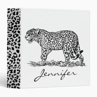 Snow Leopard Binders