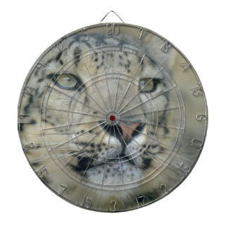 snow leopard dartboard