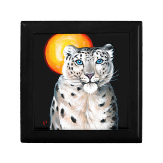 Snow Leopard Moon Gift Box