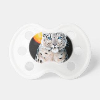Snow Leopard Moon Pacifier