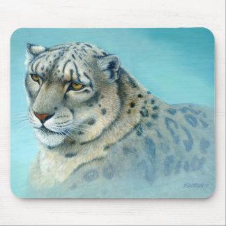 Snow Leopard - Mouse Pad