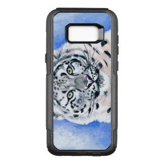 Snow Leopard OtterBox Commuter Samsung Galaxy S8+ Case