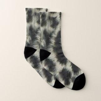 Snow Leopard Pattern Socks 1