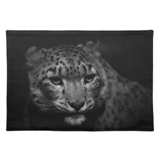 snow-leopard placemat