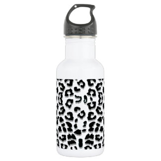 Snow Leopard Print Custom 532 Ml Water Bottle