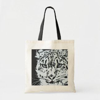 Snow Leopard Reusable Bag