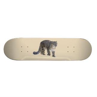 Snow Leopard Skate Deck