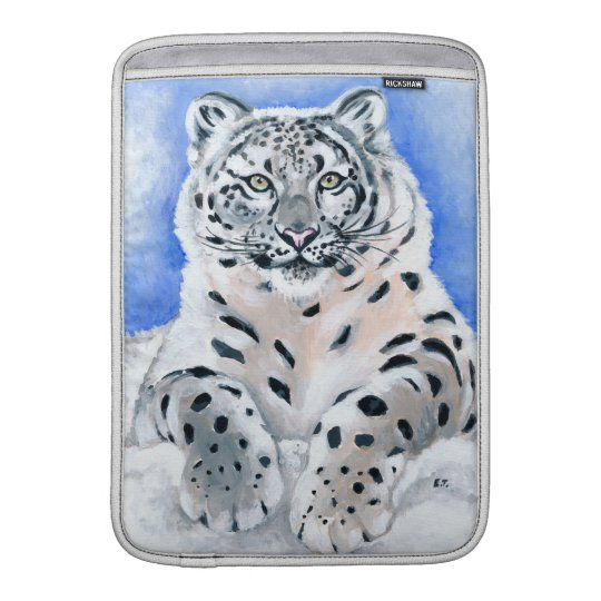 Snow Leopard Sleeve For MacBook Air