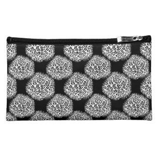 Snow Leopard Spots Makeup Bag