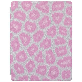 Snow Leopard style - Silver Pink iPad Cover
