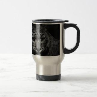 snow-leopard travel mug