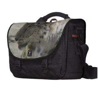 Snow Leopards Laptop Bag