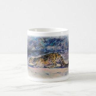 Snow Lepoard Coffee Mug