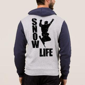 SNOW LIFE #3 (blk) Hoodie