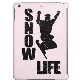 SNOW LIFE #3 (blk) iPad Air Cover