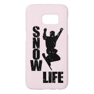 SNOW LIFE #3 (blk) Samsung Galaxy S7 Case