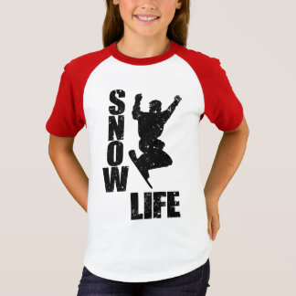 SNOW LIFE #3 (blk) T-Shirt