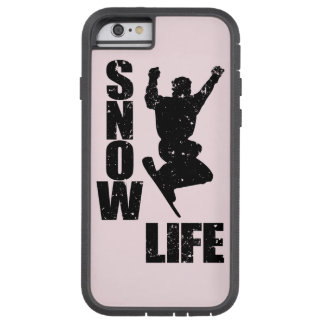 SNOW LIFE #3 (blk) Tough Xtreme iPhone 6 Case