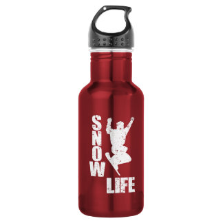 SNOW LIFE #3 (wht) 532 Ml Water Bottle
