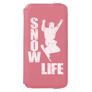 SNOW LIFE #3 (wht) Incipio Watson™ iPhone 6 Wallet Case