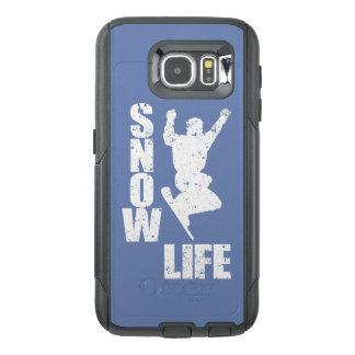 SNOW LIFE #3 (wht) OtterBox Samsung Galaxy S6 Case