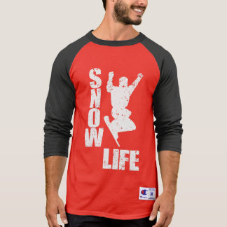 SNOW LIFE #3 (wht) T-Shirt